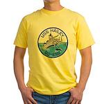 USS HAILEY Yellow T-Shirt