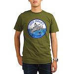 USS HAILEY Organic Men's T-Shirt (dark)
