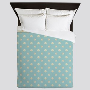 Coastal Waterways Egret Sea Turtle Sea Queen Duvet