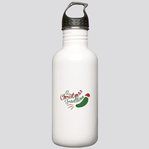 A Christmas Tradition Water Bottle