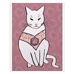 Rose Cat Posters