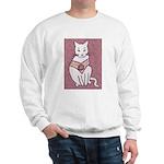 Rose Cat Sweatshirt