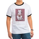 Rose Cat T-Shirt