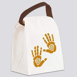 Hands Canvas Lunch Bag