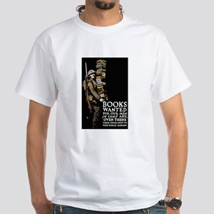 Books Wanted Poster Ar T-Shirt