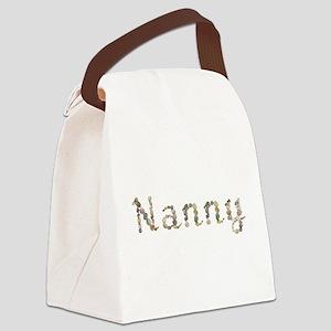Nanny Seashells Canvas Lunch Bag
