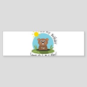 Tori birthday (groundhog) Bumper Sticker