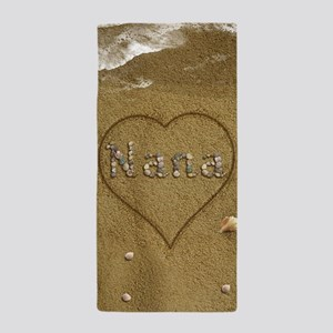 Nana Beach Love Beach Towel