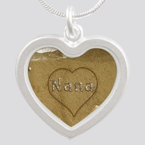 Nana Beach Love Silver Heart Necklace