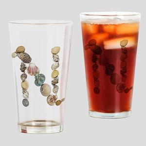 N Drinking Glass