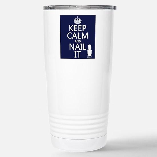Keep Calm and Nail It Mugs