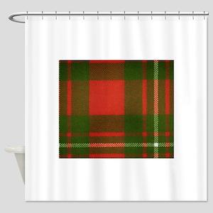 MacGregor Tartan Shower Curtain