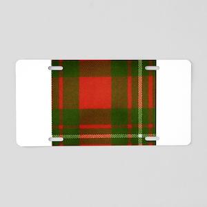 MacGregor Tartan Aluminum License Plate