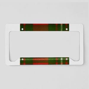 MacGregor Tartan License Plate Holder