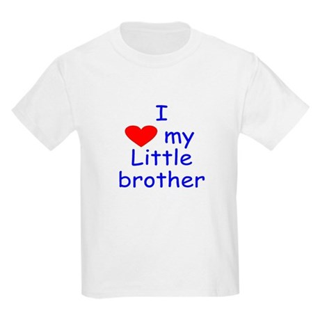 I love my little brother Kids Light T-Shirt