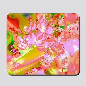 Abstract Spring Colors Mousepad