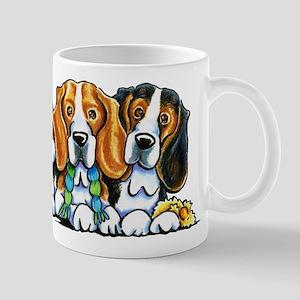 3 Beagles Mugs