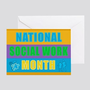National Social Work Month - Card Greeting Cards
