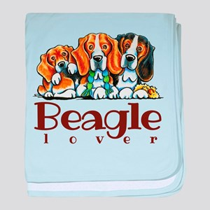 Beagle Lover baby blanket