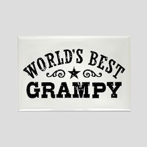 World's Best Grampy Rectangle Magnet