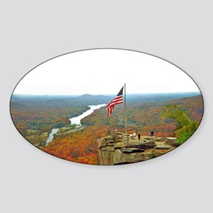 Above Chimney Rock Sticker