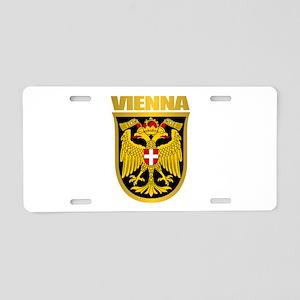 Vienna Aluminum License Plate