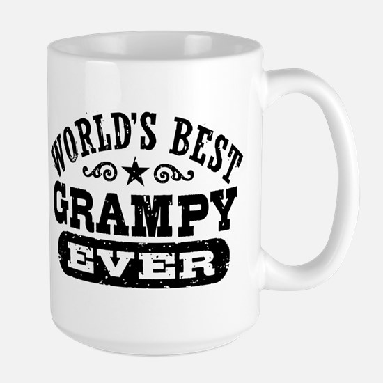 World's Best Grampy Ever Large Mug