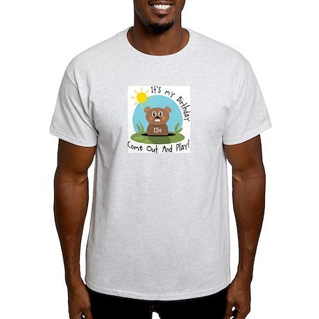 Ellie birthday (groundhog) Light T-Shirt