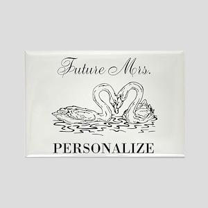 Future Mrs wedding bride Magnets