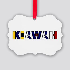 Kiawah Picture Ornament