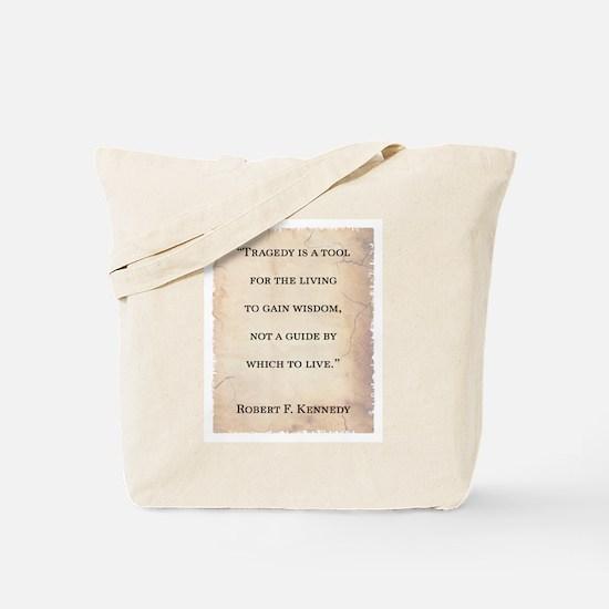 Unique Quotes wilde Tote Bag