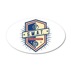 Police SWAT Crest Wall Decal