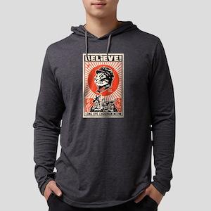 BELIEVE! Long Live Chairman Meow: Dark T-Shirt Lon