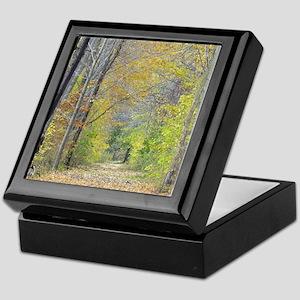 Autumn Forest Trail Keepsake Box