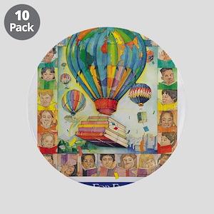 """1994 Children's Book Week 3.5"""" Button (10"""