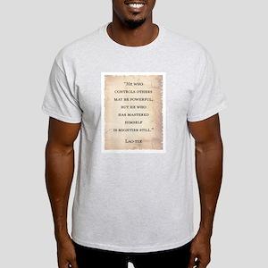 LAO-TZE QUOTE Light T-Shirt