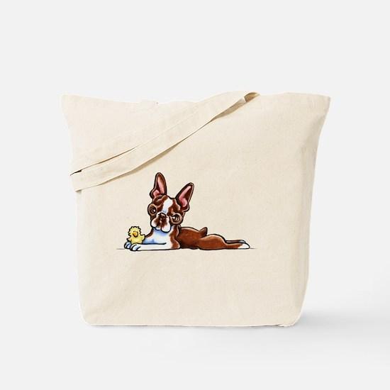 Colored Boston Tote Bag