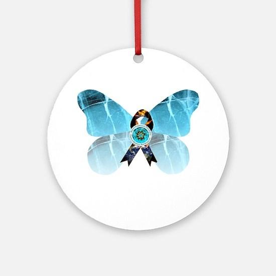 CRPS RSD Blazing Hand Starburst o Ornament (Round)