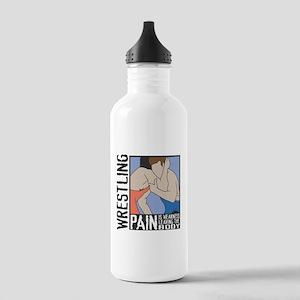Wrestling Pain Stainless Water Bottle 1.0L