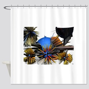 Really Sharp Objects Shower Curtain