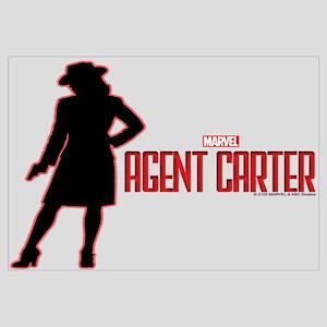 Agent Carter Red Wall Art