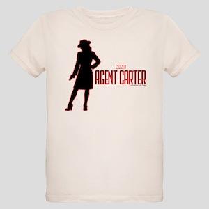 Agent Carter Red Organic Kids T-Shirt