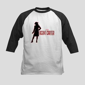 Agent Carter Red Kids Baseball Jersey
