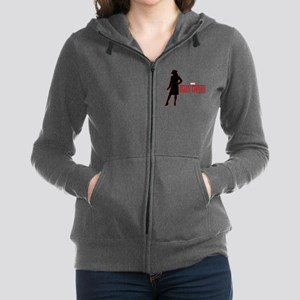 Agent Carter Red Women's Zip Hoodie