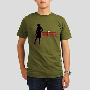Agent Carter Red Organic Men's T-Shirt (dark)