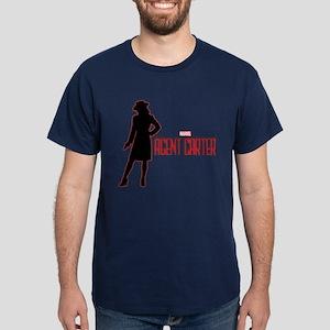 Agent Carter Red Dark T-Shirt