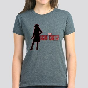 Agent Carter Red Women's Dark T-Shirt