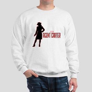 Agent Carter Red Sweatshirt