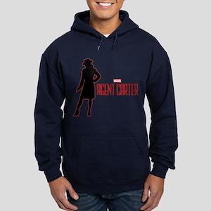 Agent Carter Red Hoodie (dark)