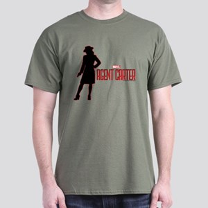 Agent Carter Red Dark T-Shirt